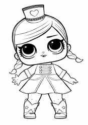 Кукла Лол в костюме