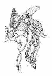 Картинка жар-птица