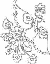 Красивая жар-птица