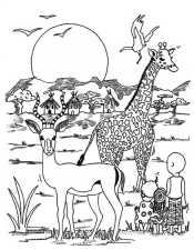 Рисунок Африка