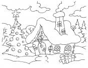 Картинка Зимний домик