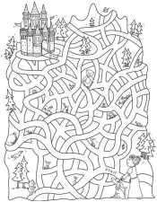 Лабиринт к замку