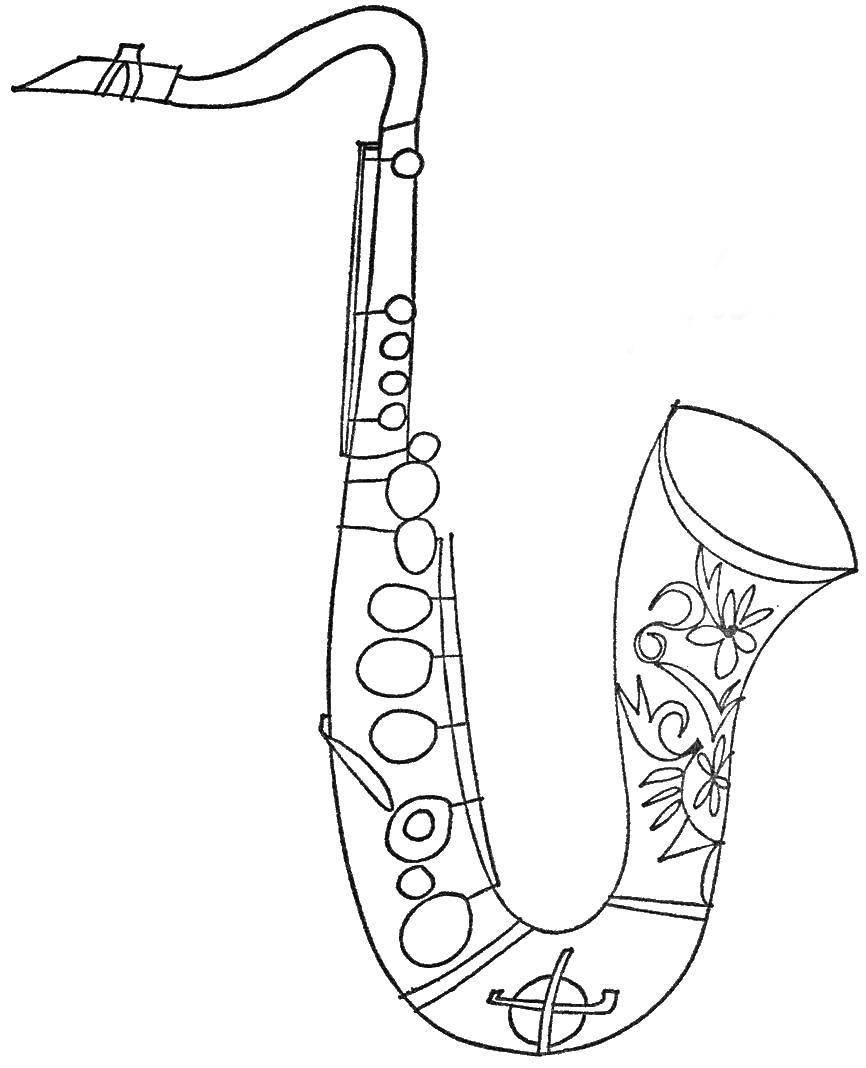 Сделать, прикольные рисунки музыкальных инструментов