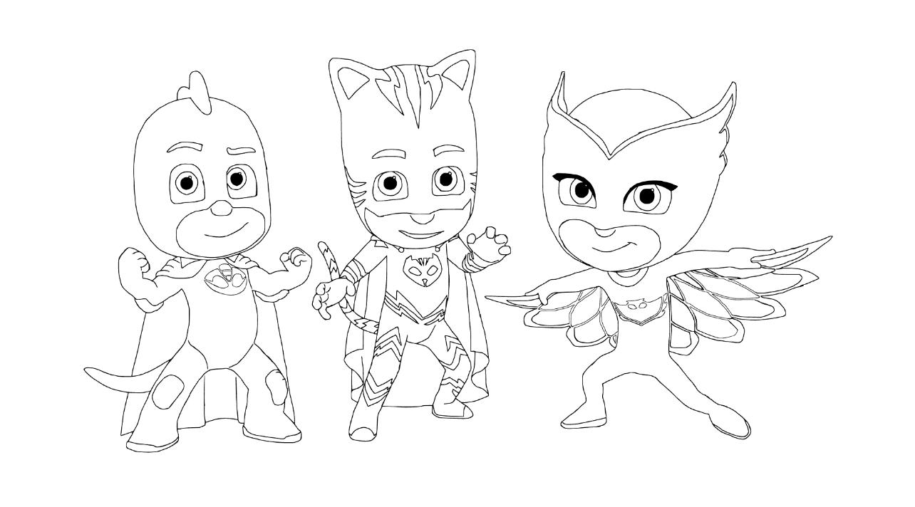 Раскраски онлайн герои в масках