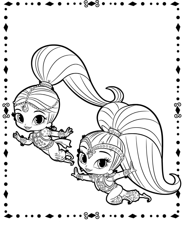 Раскраски для девочек распечатать бесплатно милая пони
